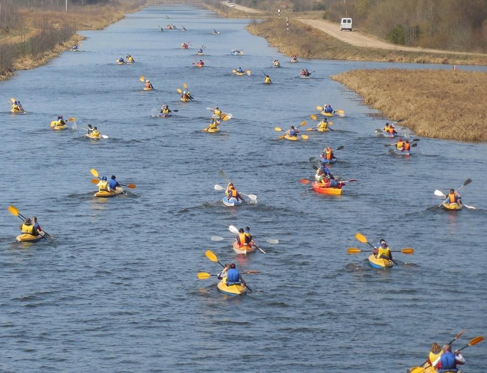 Сезон водного туризма уже открыт!